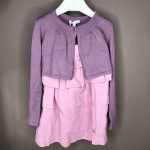 Gucci Toddlers Pink purple easter dress